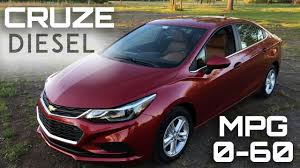 2017 chevrolet cruze diesel manual 0 60 mph review highway mpg