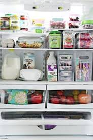 freezer organization for a side by side i feel like we never have