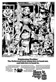 burger king coupons for halloween horror nights 81 best halloween images on pinterest october vintage holiday