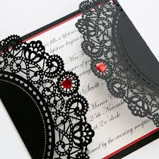 Red And Black Wedding Eclectic And Edgy The Contemporary Colors Of Red And Black