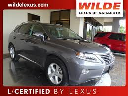 lexus of sarasota certified pre owned 2015 lexus rx 350 awd 4dr sport utility in