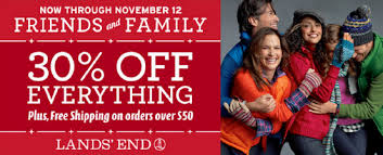 lands end christmas land s end friends and family 30 sitewide plus free