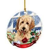 goldendoodle ornament shatter proof