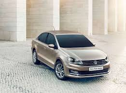 polo volkswagen sedan new vw polo sedan has a better look and offer the citizen