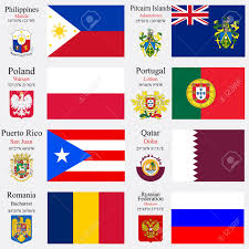 world flags of philippines pitcairn islands poland portugal