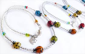 lady bird necklace images Beadoir ladybird jewellery png