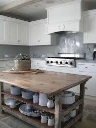 vintage kitchen islands 28 vintage wooden kitchen island designs digsdigs vintage kitchen
