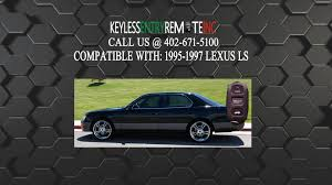 lexus ls400 houston how to replace lexus ls key fob battery 1995 1996 1997 youtube