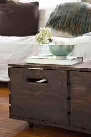 Diy Tufted Storage Ottoman by Best 25 Ottoman Coffee Tables Ideas On Pinterest Tufted Ottoman