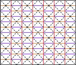 Origami Tessalation - folding and unfolding origami tessellation by reusing folding path