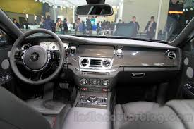 interior rolls royce ghost rolls royce ghost carbon edition interior at 2014 guangzhou auto