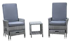 decor vallauris 5 piece recliner seating group with cushion