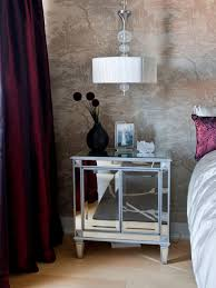 mirrored night stand bedroom u2014 all about home design mirrored