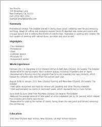 Hvac Installer Job Description For Resume by Top 8 Garage Door Installer Resume Samples In This File You Can