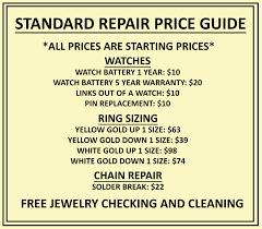sizing rings prices images Title our services fine jewelry by carter 39 s jewel chest jpg