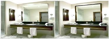 large framed bathroom mirrors white framed bathroom mirror hpianco com