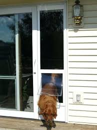 Patio Door With Pet Door Built In Sliding Glass Door Doggie Door Ideal Patio Pet Door Insert For