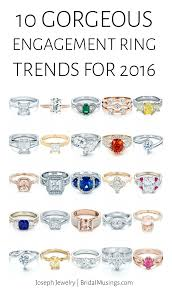 types of wedding ring 10 gorgeous engagement ring trends for 2016