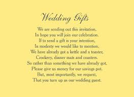 wedding gift list poems wedding gift list poem cards lading for
