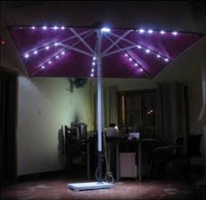 Patio Umbrella Led Lights by 2015 Most Fashion Solar Patio Umbrella With 24 Led Lights With