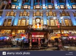 macy s department store with lights and window