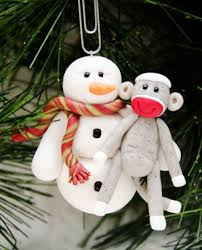 22 best sock monkey ornaments in 2013 images on