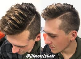mens hair feathery beige blonde balayage highlights for men brolayage men s hair