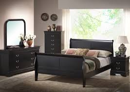 Black Distressed Bedroom Furniture by Camelot Distressed Storage Bedroom Set The Furniture Depots