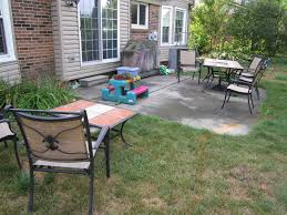 marvelous concrete patio ideas for small backyards photo design