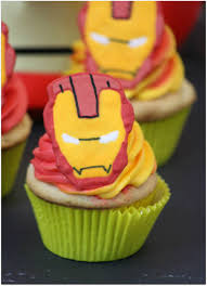 who u0027s ready for iron man cupcakes which team are you on