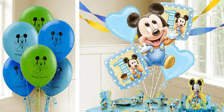 Party City Balloons For Baby Shower - mickey mouse 1st birthday balloons party city baby mickey