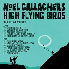 music noel gallagher u0027s high flying birds announce date at
