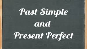 past simple and present perfect english grammar tutorial video