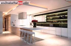 Wohnzimmerdecke Modern Wohnideen Moderne Küche Offene Regale Abgehängte Decke Youtube