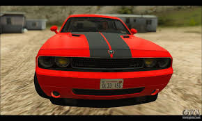 Dodge Challenger Mods - dodge challenger srt 8 2010 v2 0 para gta san andreas