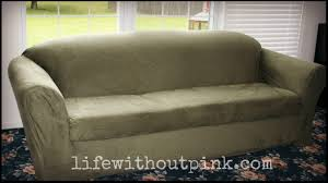 Sure Fit Dual Reclining Sofa Slipcover by Reclining Sofa Slipcover Sure Fit Best Home Furniture Decoration