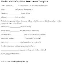 health safety risk assessment hitecauto us