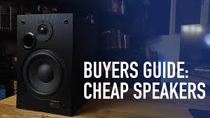best home theater subwoofer for the money buyers guide best speakers for under 100 youtube