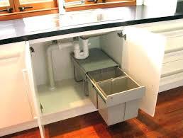under kitchen sink storage ideas pedestal sink storage ideas home and sink