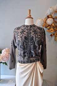 silver cardigan sweater 70 best beaded cardigans images on knit fashion
