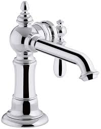 kohler k 72762 9m sn artifacts single handle bathroom sink faucet