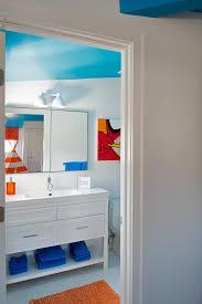 blue kids bathroom trendy twist to a timeless color scheme cute small bathroom ideas osirix interior awesome for