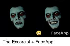 Meme Face App - face app the excorcist faceapp funny meme on sizzle