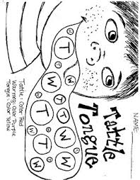 Tattle Tongue Coloring Page A Bad Case Of The Tattle Tongue Julia Cook By Sunny School Counseling