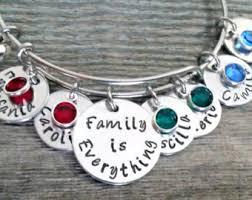 family bracelets family bracelets etsy