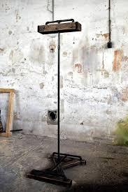 industrial pallet standing coat rack