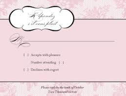 wedding response card printable wedding response card template