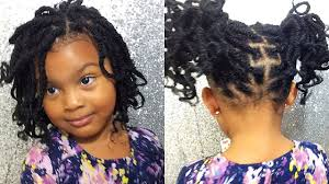 natural hair kids style 4c hair nubian twist twist