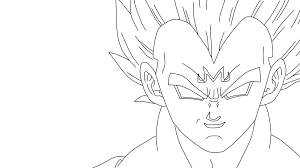 coloring pages vegeta and goku coloring home