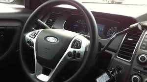 Ford Taurus Interior 2013 Ford Taurus Ex Police Startup Engine U0026 In Depth Tour Youtube